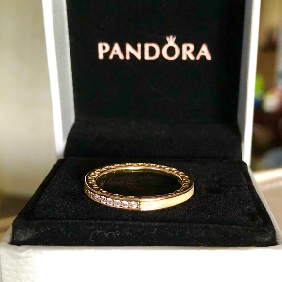 1ab2535d1 Pandora Jewelry | Reduced 14k Radiant Hearts Ring G585 Ale | Poshmark